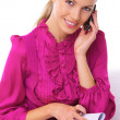Business Woman on the phone — Stock Photo #1967715