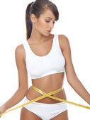 Fitness girl — Stock Photo