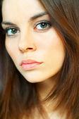 Brunette model portrait — Stock Photo
