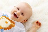 Baby boy — Zdjęcie stockowe