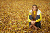 Autumn Chick — Stock Photo
