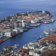 Bergen city - Stock Photo