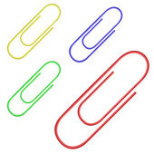 Paper clips — Stock Vector