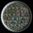 Dolar EARTH — Stock Photo