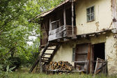 Old house in old bulgarian village — Stock Photo