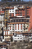 Town Veliko Tarnovo in Bulgaria — Stock Photo