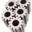 Motion gears - team force — Stock Photo #2192007