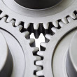 Stock Photo: Motion gears - team force