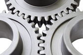 Motion gears - team force — Stock Photo