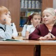 Children at a lesson — Stock Photo #2632694