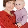 Mother with a baby — Stock Photo