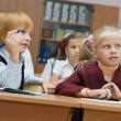 Stock Photo: Small children at a lesson