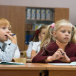Children at school — Foto Stock