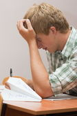 Preparation for examinations wish love — Stock Photo