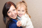 Mother with a daughter — Stock Photo