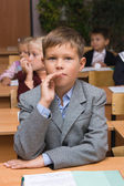 Children at a lesson — Stockfoto