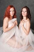 Two beautiful girls — Stock Photo