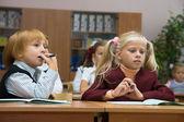 Children at school — Stock Photo