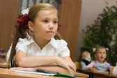 Children at a lesson — Stock Photo