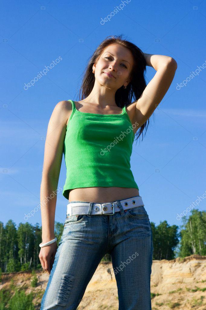 Девушка стройная симпатичная фото