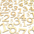 Royalty-Free Stock Photo: Numbers background