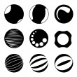 Circle design elements — Stock Photo