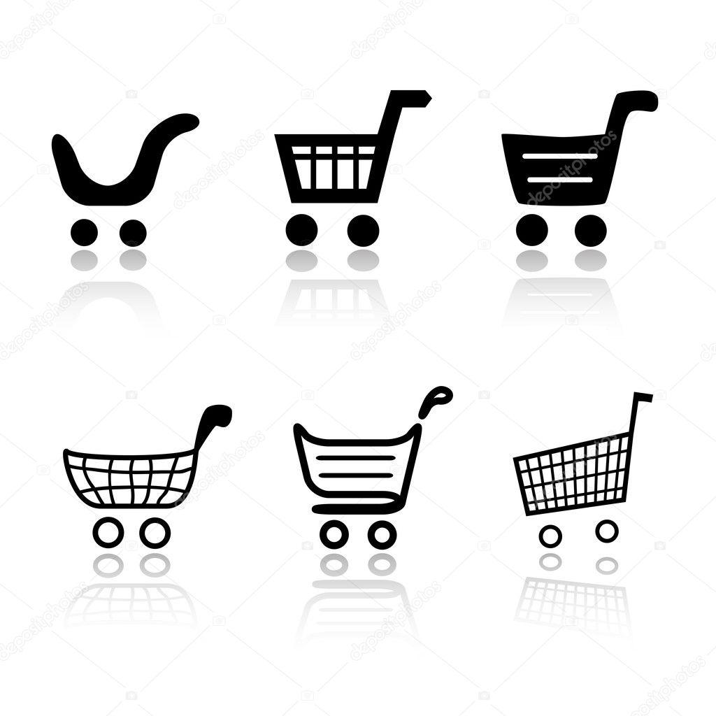 бесплатно скачать иконки для корзины: