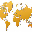 World map — Stock Photo #2097566