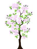 Tree. Vector. — Stock Vector