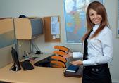 Workplace, neuer job, work office — Stock Photo