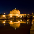 Castle Saint Angel in Rome — Stock Photo