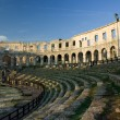 The Roman amphitheater — Stock Photo