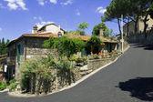 Street of the italian city Bolsena — Stock Photo