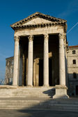 The old roman temple in Croatia — Stock Photo