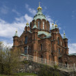 Uspensky cathedral in Helsinki — Stock Photo