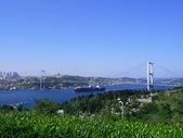 Bosphorus bridge — Stock Photo