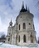 The orthodox church in Bykovo, Russia — Stock Photo