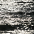 Stock Photo: Solar patches of light on water