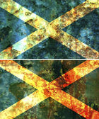 Old flag of scotland — Stock Photo