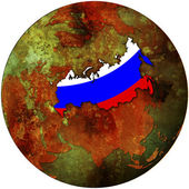 Russian federation flag — Stock Photo