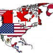 Foto de Stock  : North america