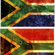 Stock Photo: Republic of south africflags