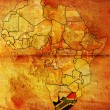 Stock Photo: Rson africmap