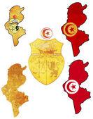 Symbols of tunisia — Stock Photo