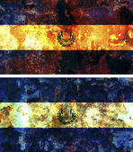 Ancien drapeau du salvador — Photo