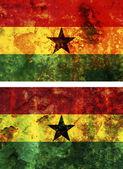 Stará vlajka Ghany — Stock fotografie