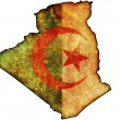 Algeria map — Stock Photo