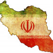 Iran map — Stock Photo #2187079