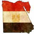 Egypt map — Stock Photo