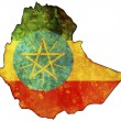 Ethiopia map — Stock Photo